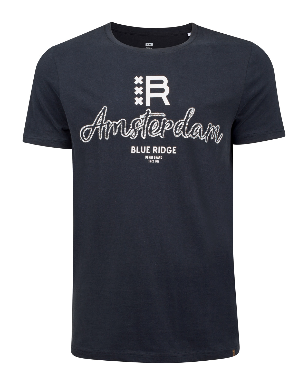 Herren t shirt mit amsterdam print 80494713 we fashion for Print one t shirt