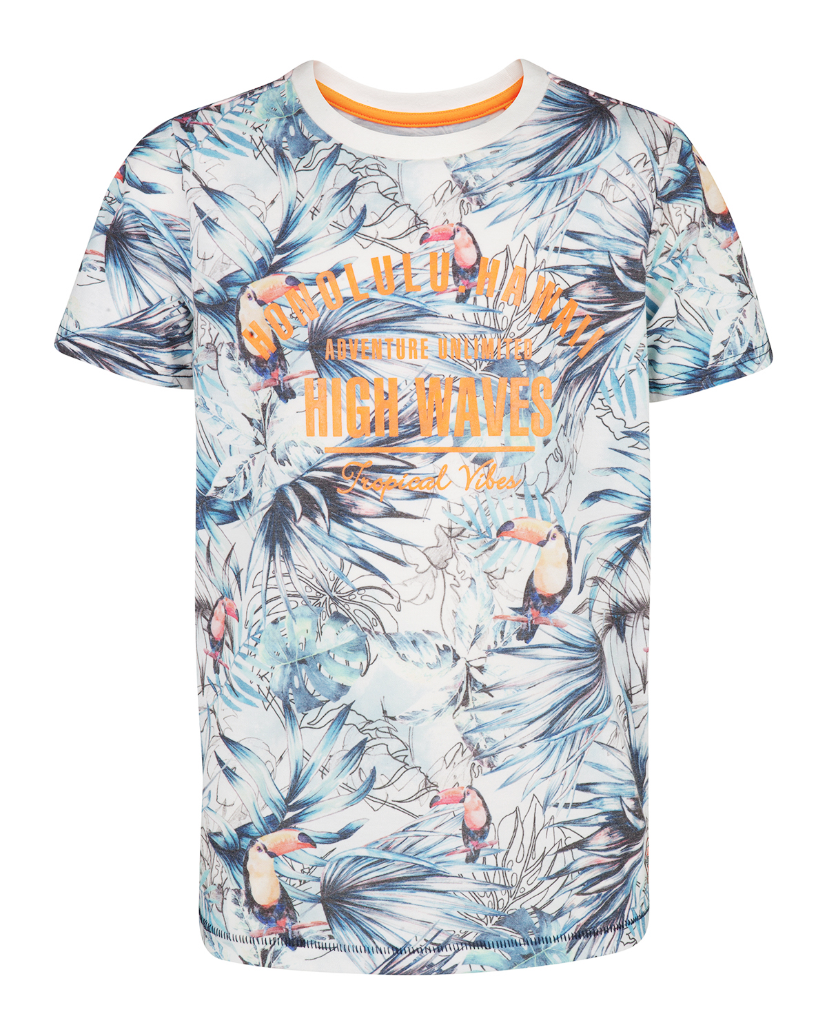 Jungen t shirt mit hawaii print 82842697 we fashion for T shirt printing delaware