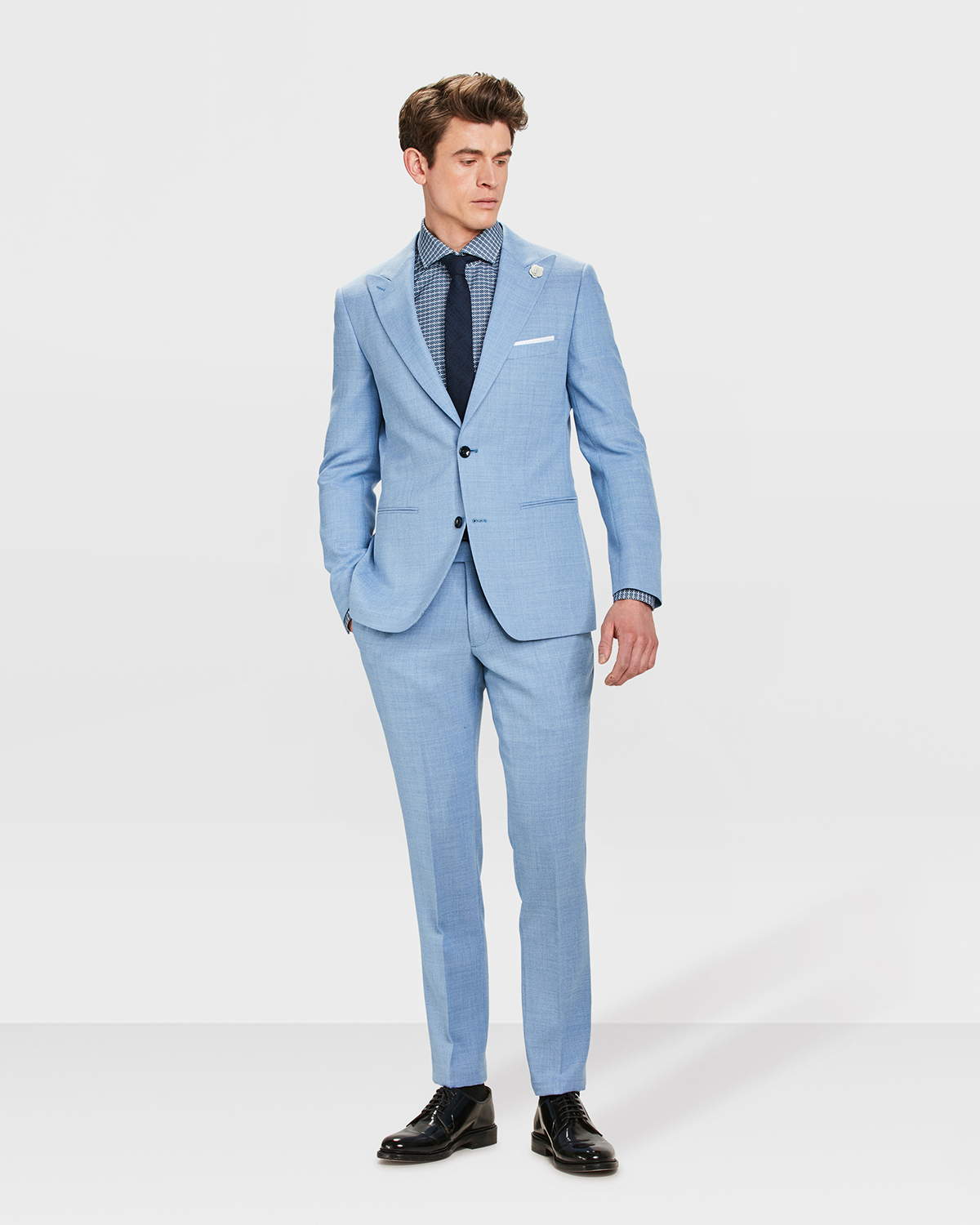 first rate ce80d e7001 HERREN-SLIM-FIT- ANZUG STOCKWELL | 80984863_set_suit - WE ...