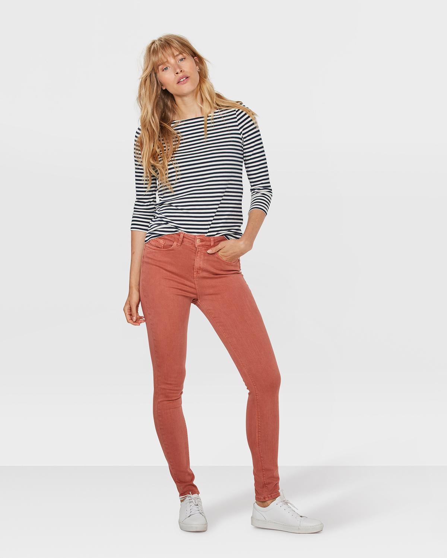 damen skinny jeans mit hoher taille 80271925 we fashion. Black Bedroom Furniture Sets. Home Design Ideas