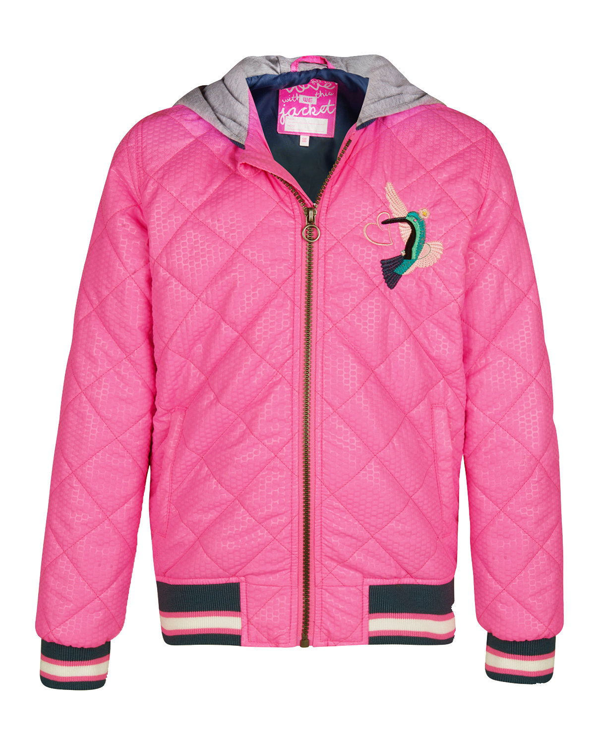 low priced 3e487 97694 MÄDCHEN-BOMBERJACKE MIT STEPPMUSTER | 80484653 - WE Fashion