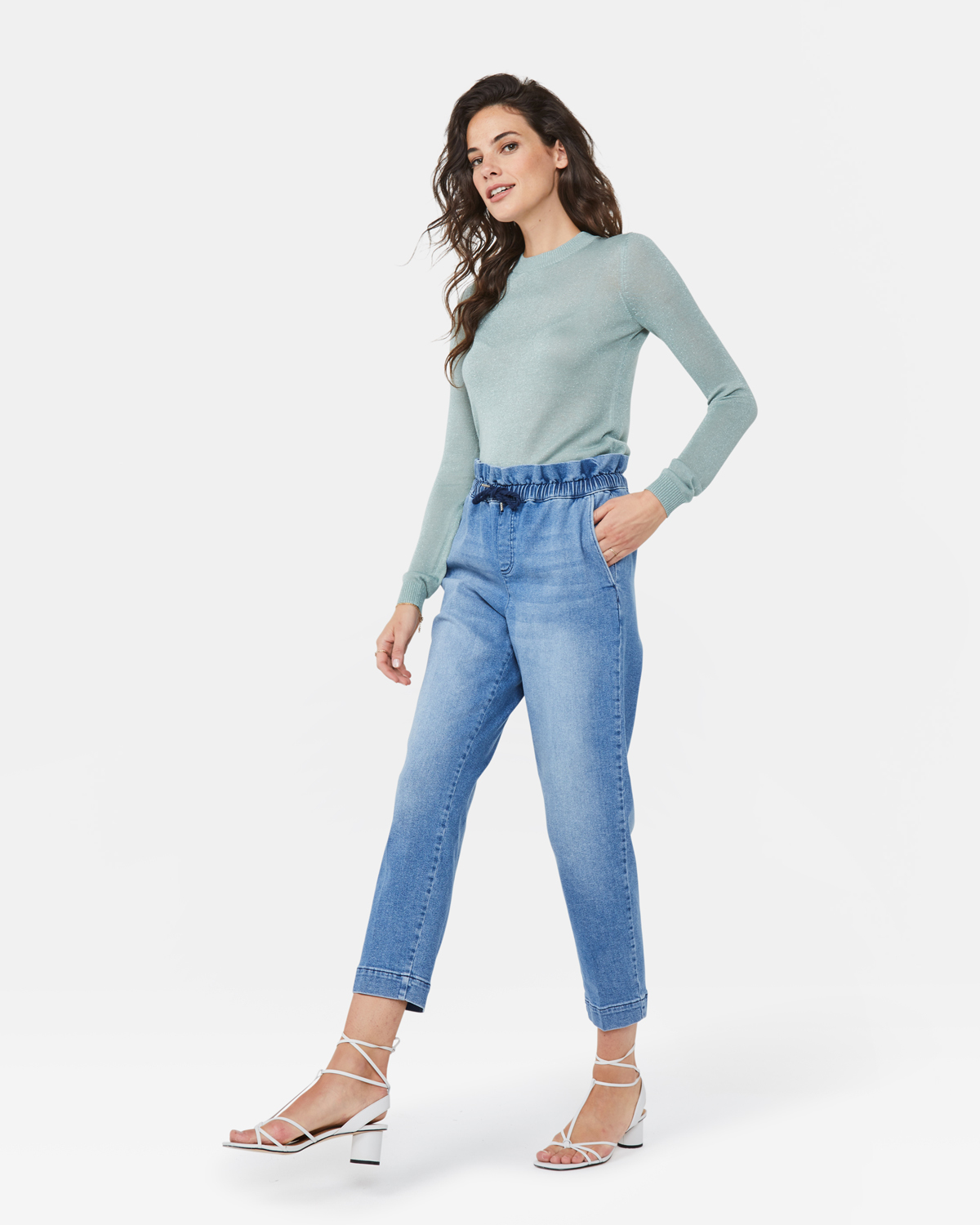 Damen Paperbag Jeans | 94812879 WE Fashion