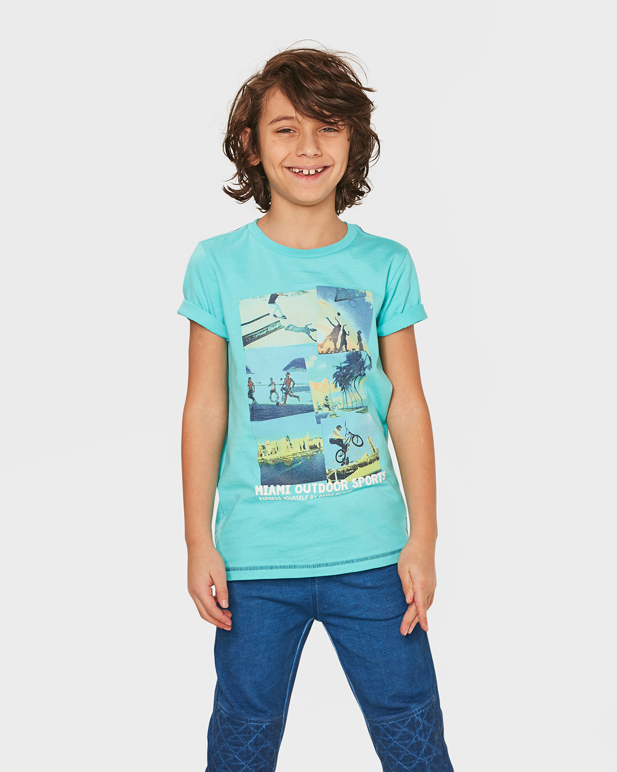 Jungen t shirt mit print 79731805 we fashion for T shirt printing delaware